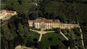 Foto panoramica di villa Trento Carli